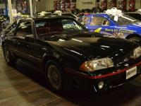 This 1987 Ford Mustang GT 2-Door Hatchback features a