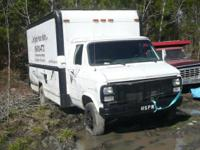Offering in parts ONLY:. 1987 GMC G3500 Vandura 1 Ton