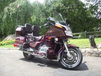 1987 Honda Goldwing 18,000 original miles. Second