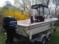1987 Grady White 204 -2001 Mercury 200hp Optimax, Boat