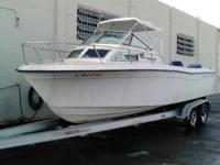$7500 everything original 1987 Grady White 24 foot