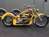 1987 Harley-Davidson FXR Super Glide Custom . This 1987
