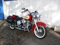 This Harley Davidson Heritage Softail is in very nice,