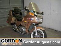 Less than 74k Miles! This sweet 1987 Gold Wing is just