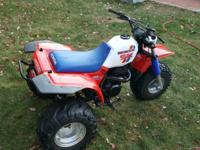 1987 Honda ATC 250SX Last year made and in excellent