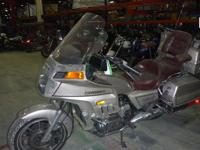 1987 Honda Goldwing Motorcycle, 84,062 odometer
