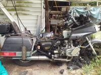1987 Honda GoldWing GL1200I still runs and drives. Was