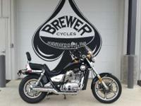 1987 Honda VT700 Come see it at Brewer Cycles or call