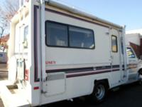 1987 honey recreational vehicle, camper. with 79k