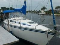 1987 Hunter 31 Boat is located in Cape