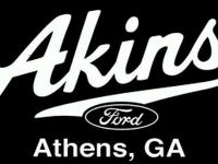 ***FOR SALE at Akins Ford of Athens, GA*** ***This is a