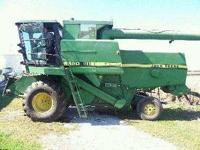 Description Make: John Deere Year: 1987 Combined, 3200