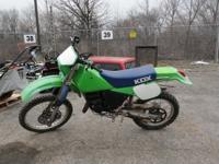 1987 Kawasaki KDX 200 Dirt Bike, New Chain & Sprockets,