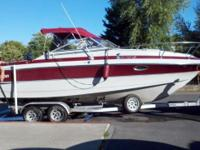1987 Larson Mercruiser 260 hp. V8 IO Cuddy with head