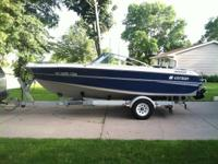 For sale:. 1987 Larson Citation 19 ft. boat with