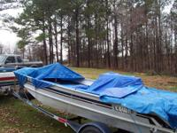 1987 17 Ft. Lowe Bass Boat, 70 Hp. Mercury Outboard, 6