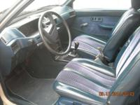 1987 Mitsubishi Mirage hatchback. Motor has actually