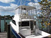 Boat Type: Power What Type: Sport Fisherman, Flybridge