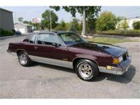 Collectible 1987 Oldsmobile 442 with only 59,329 actual