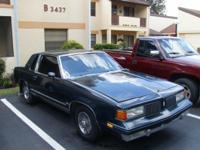 1987 olds cutlass supreme 2 door w/ 305 motor~ runs and