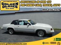 This 1987 Oldsmobile Cutlass Supreme was a one owner