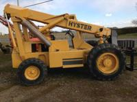1987 Other Hyster Z80A Telehandler 2WD lifts 6000 lbs