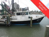 This working shrimp trawler is in great working