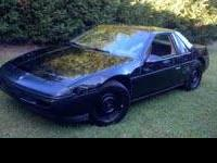 1987 Pontiac Fiero for sale. Has the 2.5 4 cyl with an
