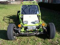 custom built dune buggy with Pontiac V 6 with 5 speed