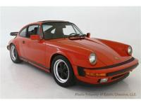 1987 PORSCHE 911 Exotic Classics is pleased to present