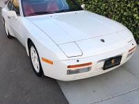 1987 Porsche 944 951 Turbo Alpine White with Cancan Red
