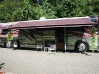 "1987 Prevost XL (102"" wide) Electric motor Home/Day"