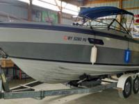 1987 250 XL Regal Royal 25 foot boat cuddy cabin 305