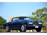 This 1987 Rolls-Royce Corniche 2dr Convertible features
