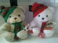 1987 Roses Christmas Bears with original tags still