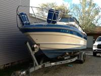 1987 sea ray sun dancer 250. 5.7 260 v8 about 50 hours