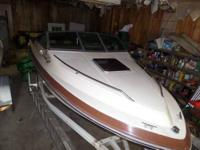 We have 1987 Searay Seville 19' Cuddy Cabin with a