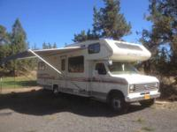 I have a 1987 27' shasta roadmaster motor home for