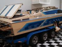 1987 Sleek Craft Boat, 28. Outstanding condition. Ran