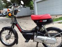 Used. 1987 Suzuki FA50 Shuttle 49cc scooter for sale.