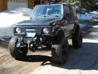 1987 Suzuki Samurai This import classic currently has