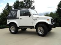 If you've been looking for a Suzuki Samurai in