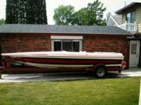 1987 Taylor 20' LP Jetboat 454 Indmar 330 HP