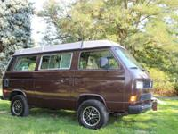 1987 Volkswagen Westfalia Vanagon Syncro. For sale is a