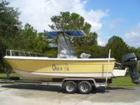 1987 Wellcraft 230 Fisherman 1998 Suzuki 225. This is a