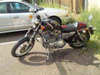 1987 Harley Sportster 883 14,000 original miles...runs