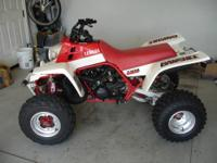 One owner, Original, UNRESTORED, 1987 Banshee YFZ350T