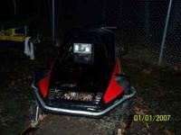parting out an entire Yamaha snowmobile This one is a