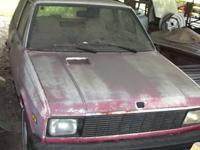 1987 Yugo 2 door 4 cyl, The cars body is in good shape,