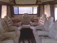 1987 zimmer party bus/limo with 9,981 miles on it witch